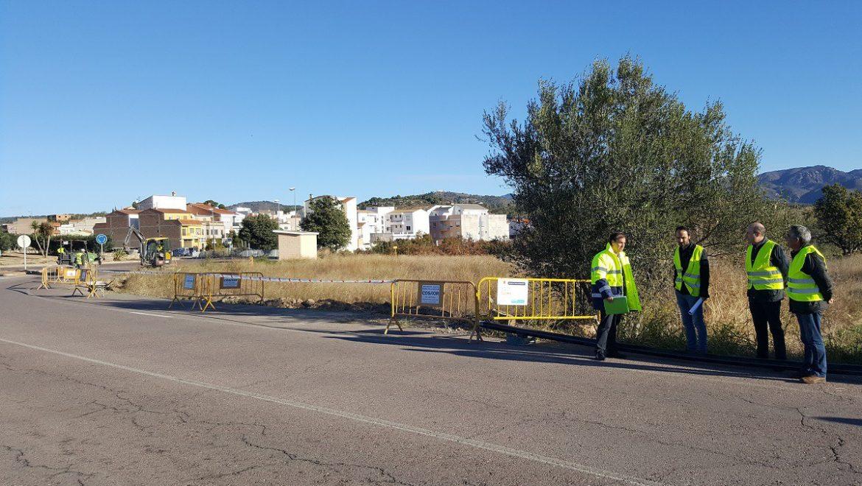 El Ayuntamiento de Segorbe y FACSA inician las obras de mejora de la red de abastecimiento de Villatorcas