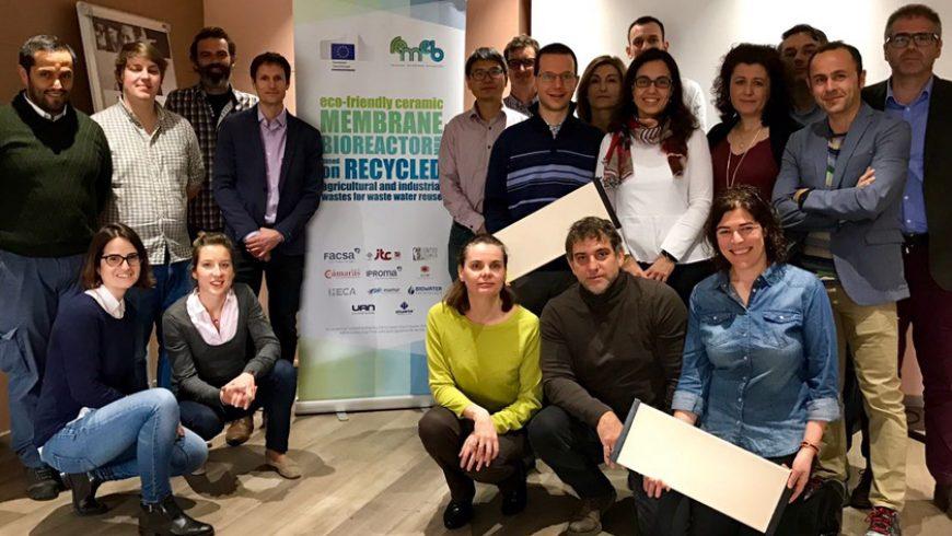 El biorreactor de membranas sostenible REMEB ultima ya su puesta en marcha en España