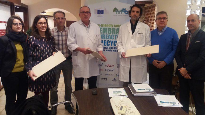 FACSA desarrolla un biorreactor de membranas cerámicas low-cost para depurar aguas residuales