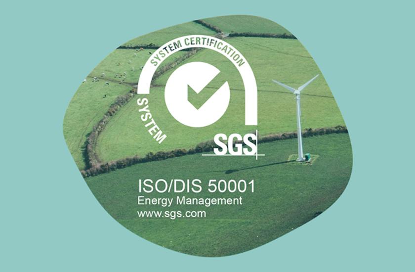 FACSA renueva su certificado de gestión energética eficiente ISO 50001