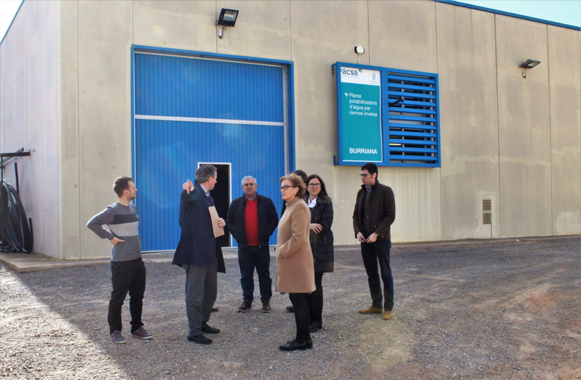El Ayuntamiento de Burriana, FACSA e Hydrokemós colaboran en un proyecto de I+D para eliminar nitratos en el tratamiento del agua