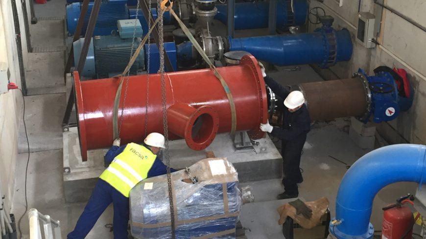 FACSA finaliza con éxito las obras de ampliación del sistema de bombeo en la bahía de Palma