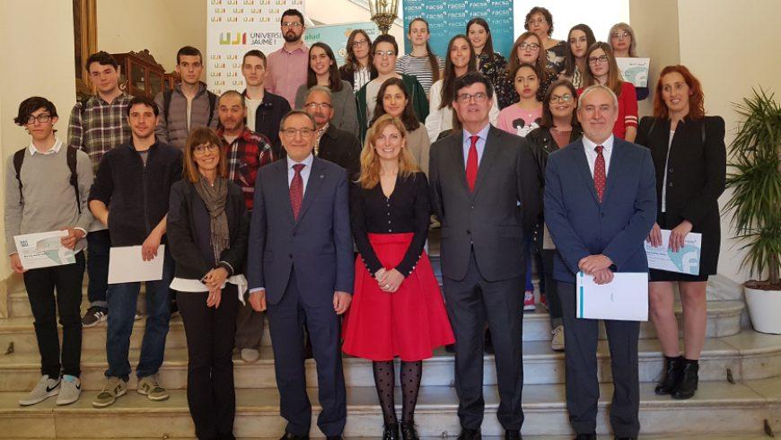 FACSA, la UJI y el Ayuntamiento becan a 25 estudiantes de Castellón