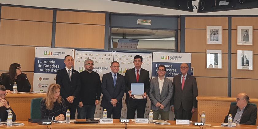 FACSA participa en la I Jornada de Cátedras y Aulas de Empresa de la UJI