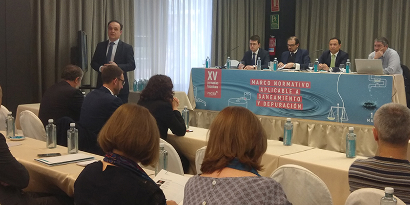 FACSA dedica sus XV Jornadas Técnicas a las novedades legislativas en el área del saneamiento y la depuración