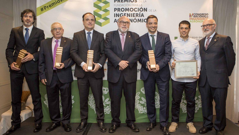 El Colegio de Ingenieros Agrónomos de Levante premia al proyecto LIFE STO3RE promovido por FACSA en los VI Premios FPIA