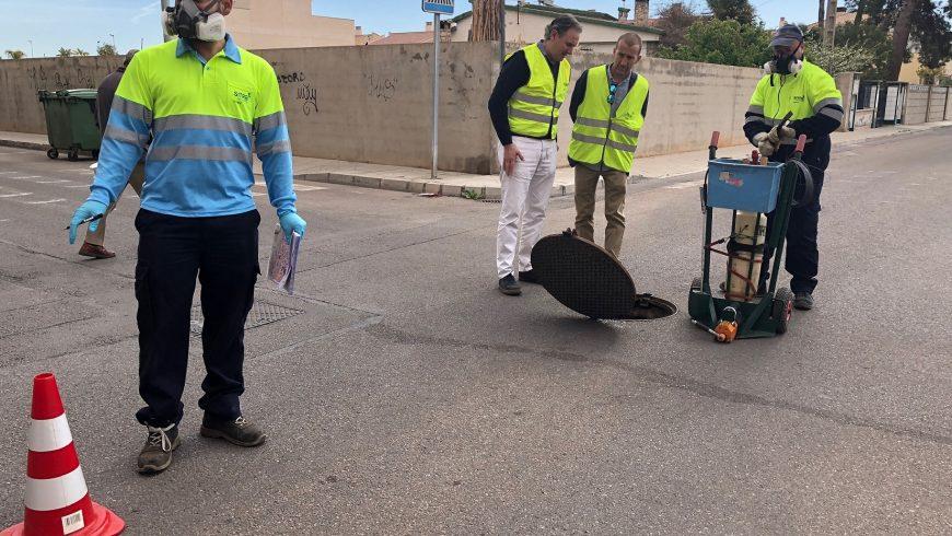 FACSA y Almassora comienzan la campaña de tratamiento preventivo contra ratas e insectos