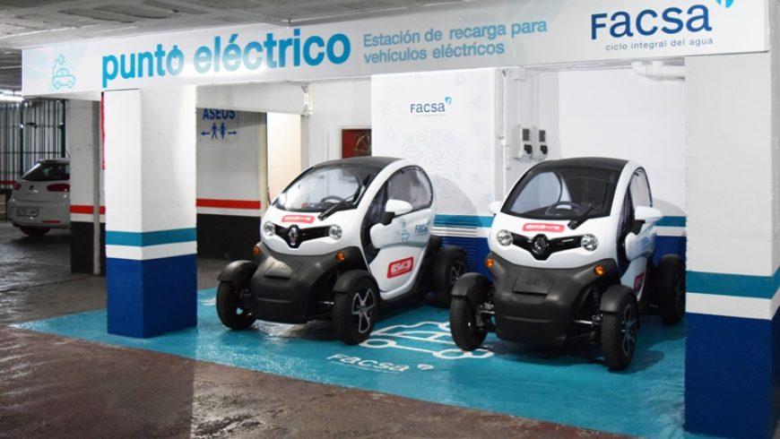 FACSA incorpora una flota de vehículos eléctricos para el desarrollo de sus servicios de alcantarillado