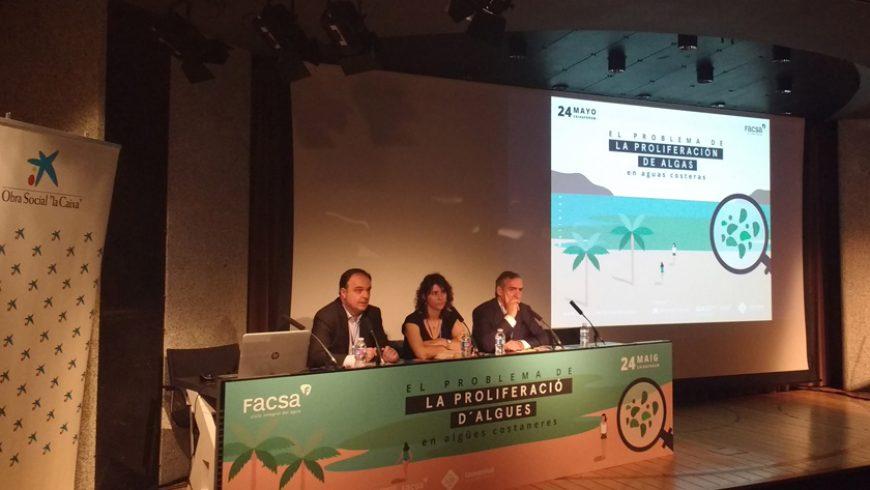 Expertos de primer nivel analizan en Palma de Mallorca, de mano de FACSA, la problemática de la proliferación de algas en aguas costeras
