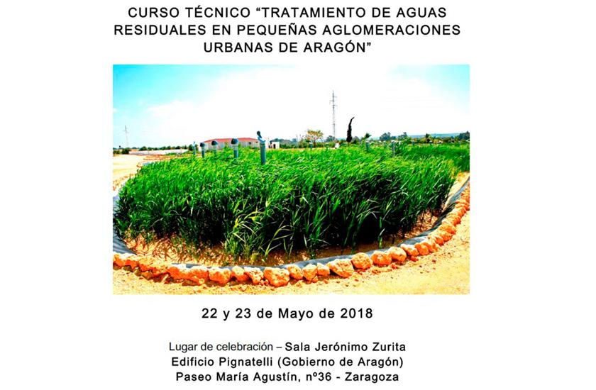 FACSA participa en Zaragoza en unas jornadas sobre tratamiento de aguas en pequeñas poblaciones