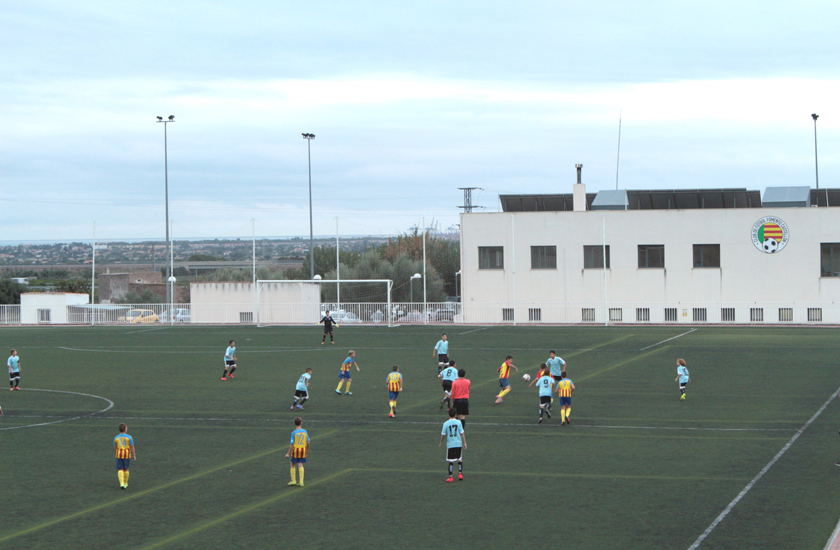 El CF Fomento Castellón, el club de fútbol base impulsado por FACSA, celebra su segundo aniversario