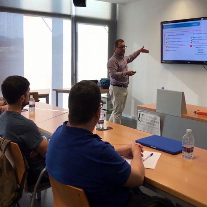 FACSA explica al alumnado del MBA de la UJI su modelo de negocio basado en la economía circular