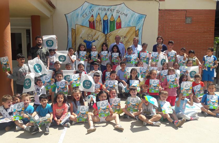 La Diputación Provincial de Castellón y FACSA conciencian a más de 200 escolares de la provincia sobre el uso racional del agua