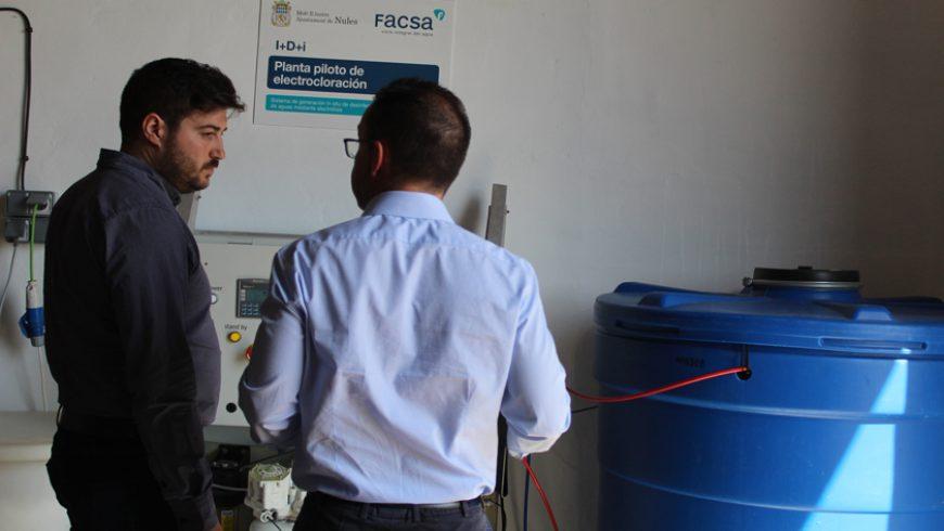FACSA habilita en Nules una planta piloto de tratamiento de agua mediante electrocloración