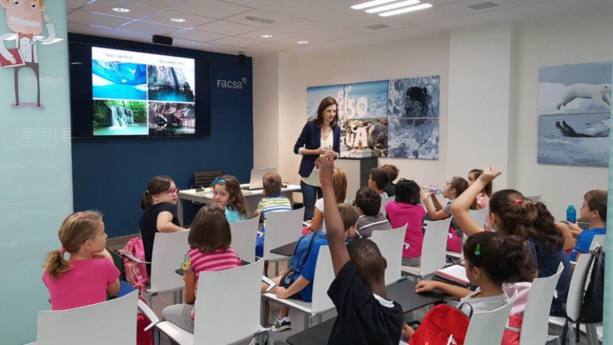 El proyecto social divulgativo de FACSA 'El Curso del Agua' conciencia a 5.100 escolares en sus primeros tres años