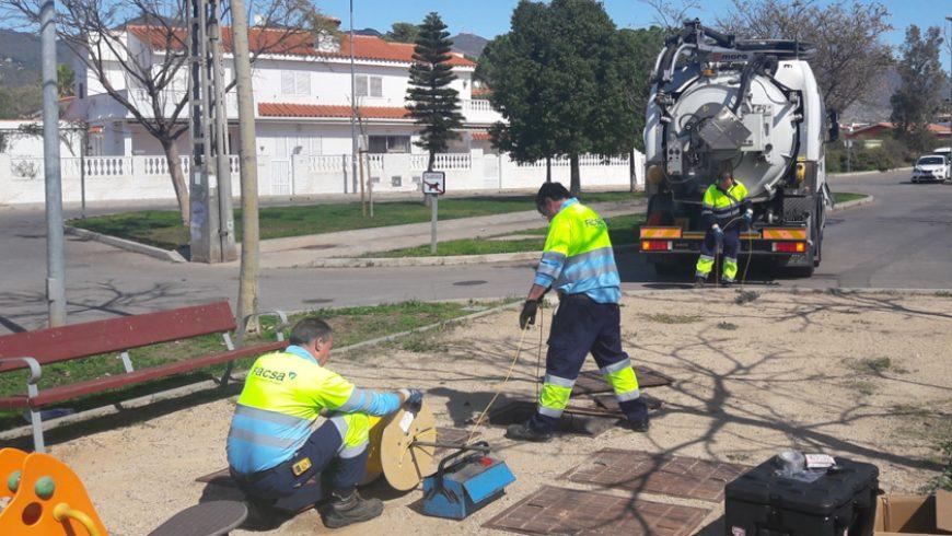 El equipo GESTOR prueba en Benicàssim una nueva técnica para detectar infiltraciones en colectores de agua residual
