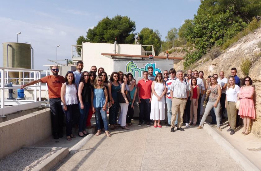 El proyecto REMEB, liderado por FACSA, se da a conocer a profesionales del sector del agua en una jornada en Murcia