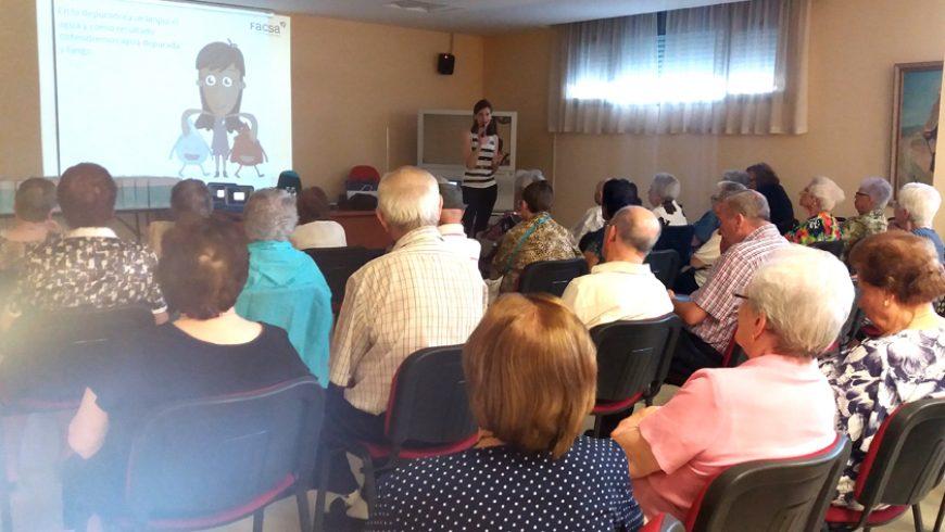 FACSA lleva 'El Curso del Agua' a los más mayores