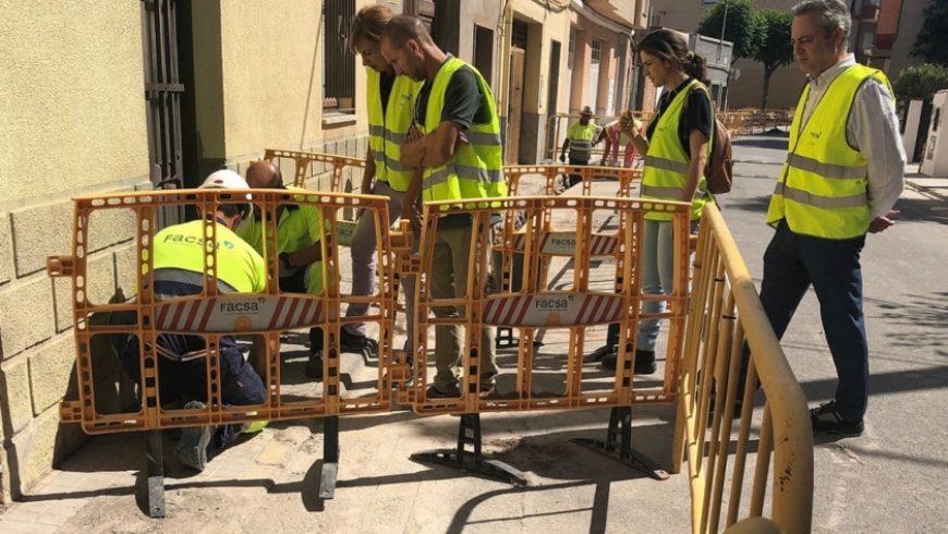 El Ayuntamiento de Almassora y FACSA renuevan las redes de agua potable de la localidad