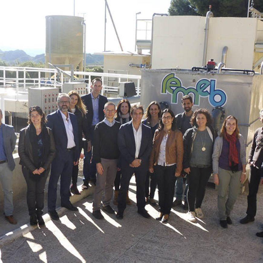 El proyecto REMEB, liderado por FACSA, concluye con la exitosa validación de su sistema de tratamiento de aguas residuales sostenible