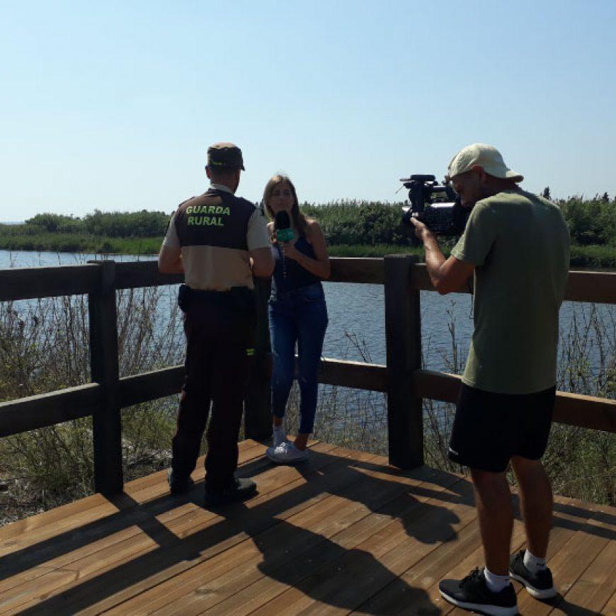 À Punt muestra la importante labor de vigilancia y conservación de FACSA en el Millars