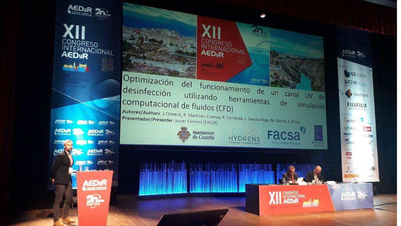 Las innovaciones en el ámbito del agua urbana e industrial centran las ponencias de FACSA y SITRA en el XII Congreso Internacional de la AEDyR de Toledo