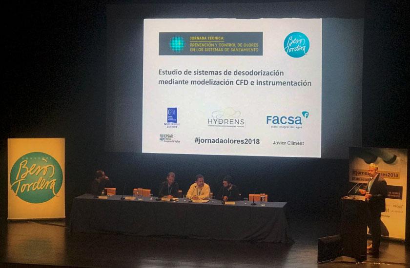 FACSA presenta sus innovadoras líneas de trabajo en gestión de olores en las EDAR