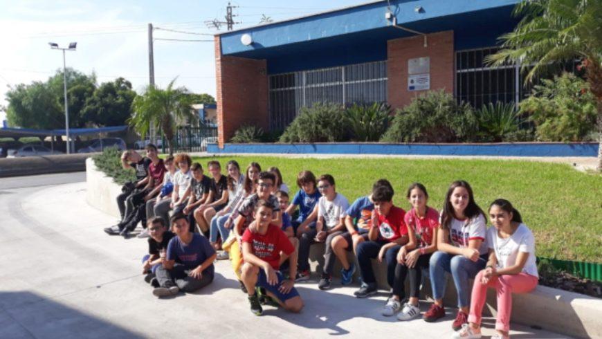 FACSA da a conocer el funcionamiento de la EDAR de Castellón a dos nuevos grupos estudiantiles