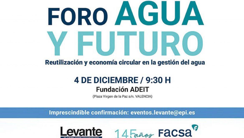 FACSA y Levante debaten en torno a la reutilización y la economía circular en la gestión del agua