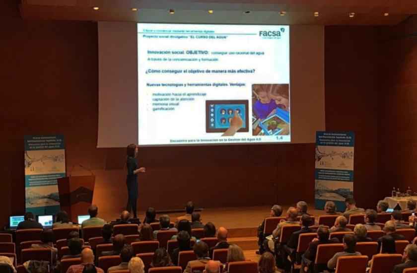 FACSA muestra su apuesta por la transformación digital en las jornadas de innovación de AEAS de Bilbao