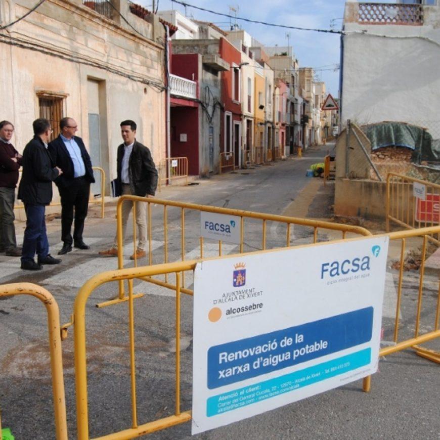 FACSA renueva la red de conducciones de agua potable de Alcalà-Alcossebre