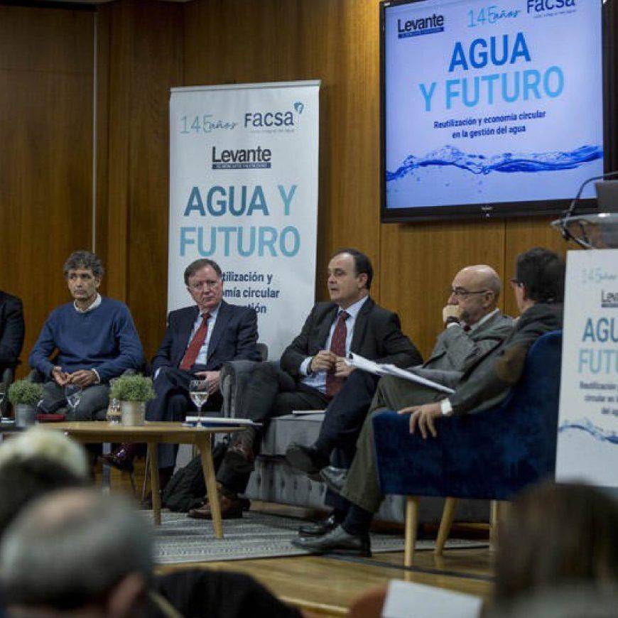 Más de un centenar de personas asisten a la II Jornada 'Agua y Futuro' del Levante EMV y FACSA