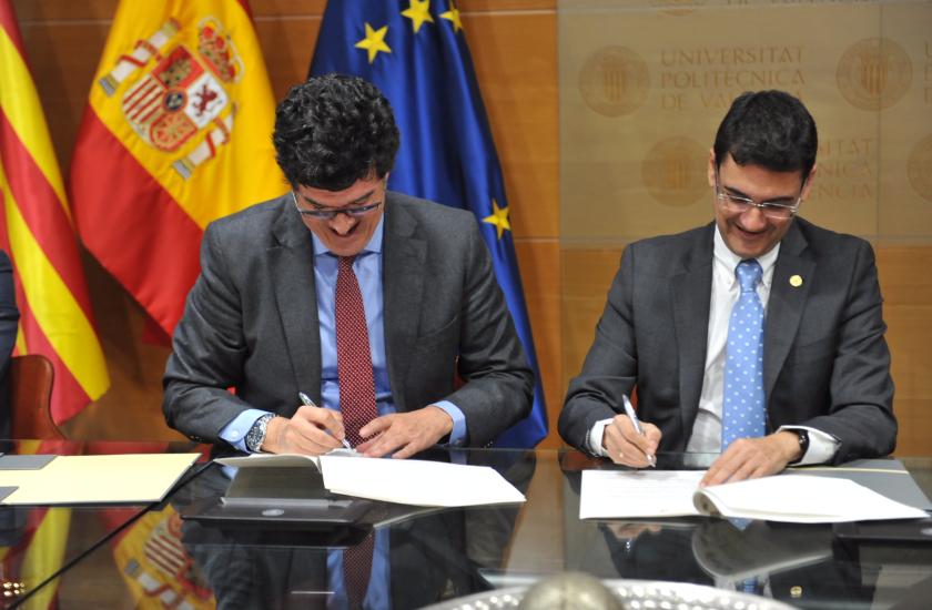 FACSA, FOVASA y la UPV crean una cátedra de empresa de economía circular asociada a la gestión del agua y los residuos