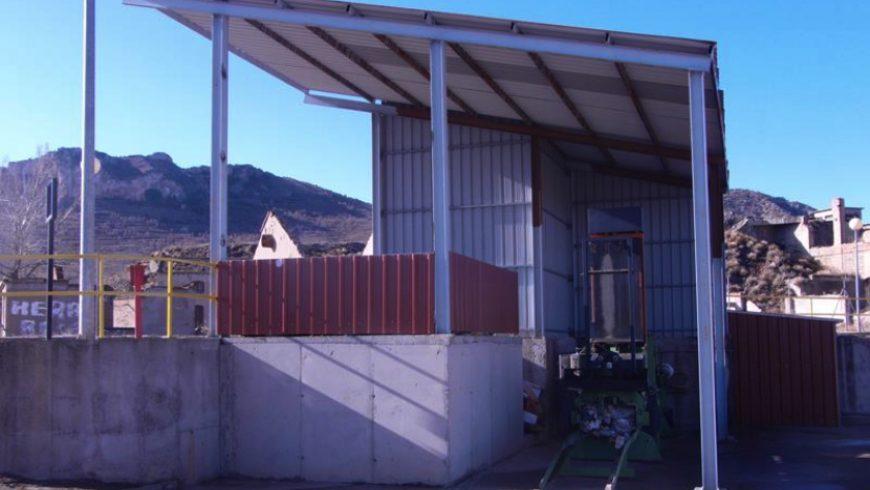 FACSA renueva la conducción de agua potable al Punto Limpio de la Comarca Cuencas Mineras