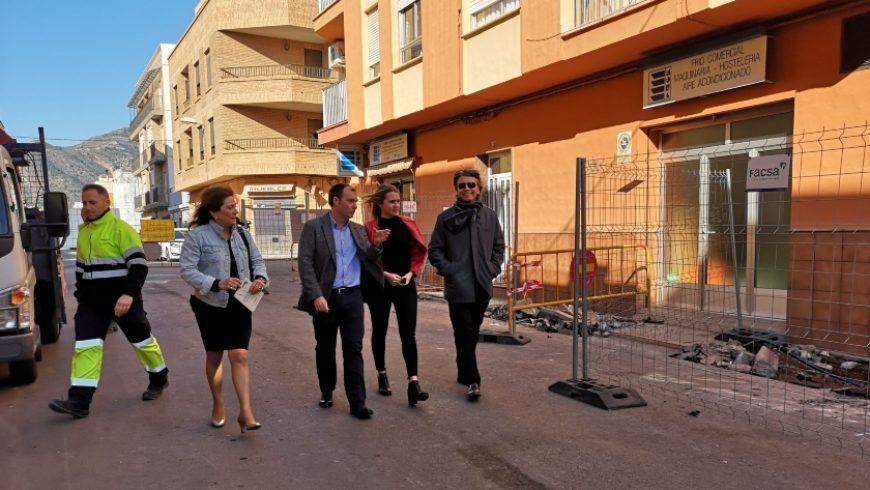 La Vall d'Uixó y FACSA renuevan la red de agua potable de la localidad