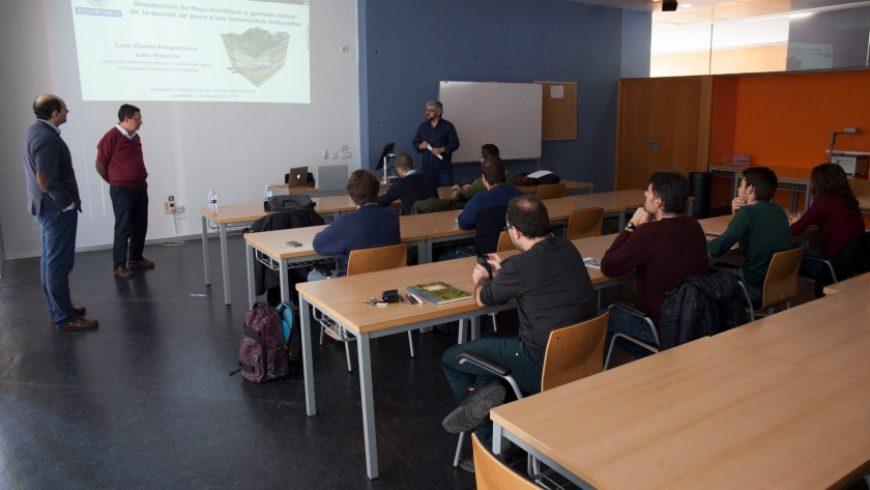 La Cátedra FACSA-UJI presenta los avances en modelado de fluidos en el interior de medios porosos