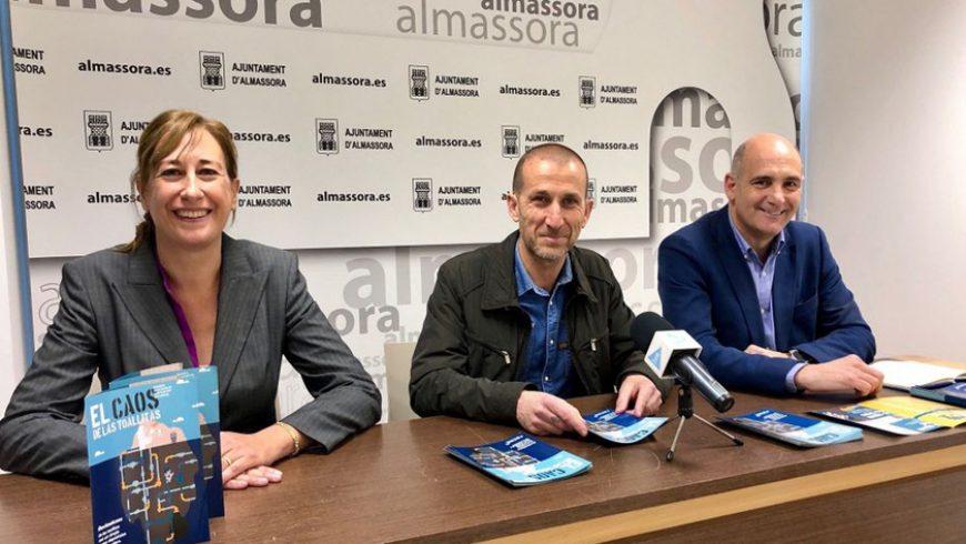El Ayuntamiento de Almassora y FACSA lanzan la campaña de sensibilización 'El caos de las toallitas'