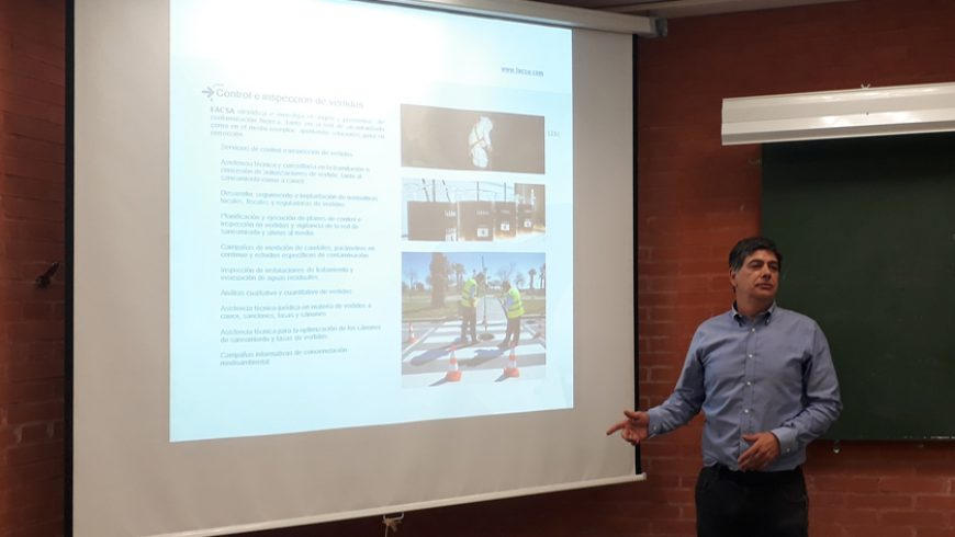 FACSA participa en el Máster oficial en Gestión de Recursos Hídricos de la Universidad de Valencia