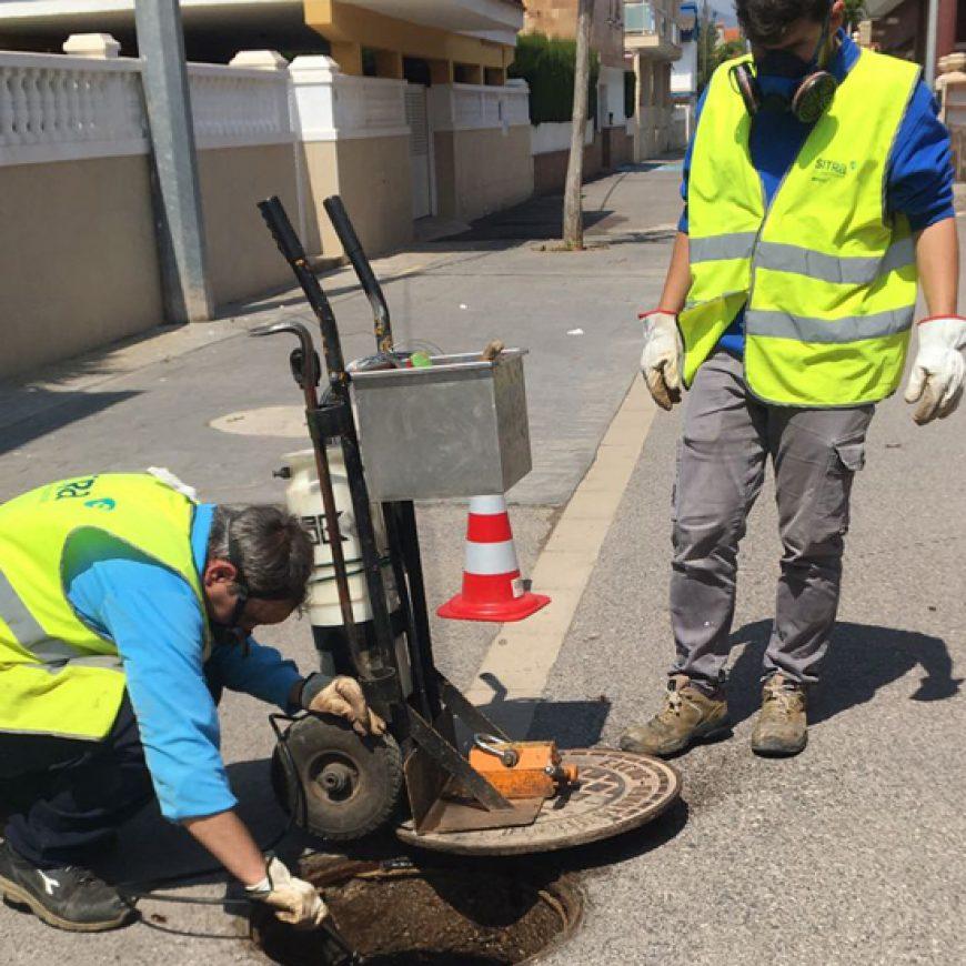 El Ayuntamiento de Xilxes y FACSA inician los tratamientos contra las plagas en la zona de la playa