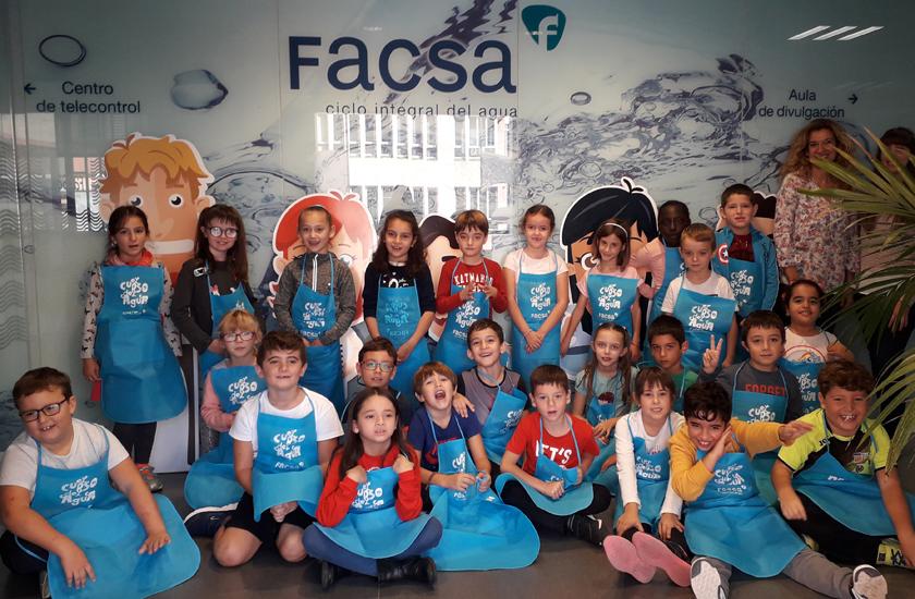 Más de 7.000 escolares aprenden a hacer un uso responsable del agua de la mano de FACSA