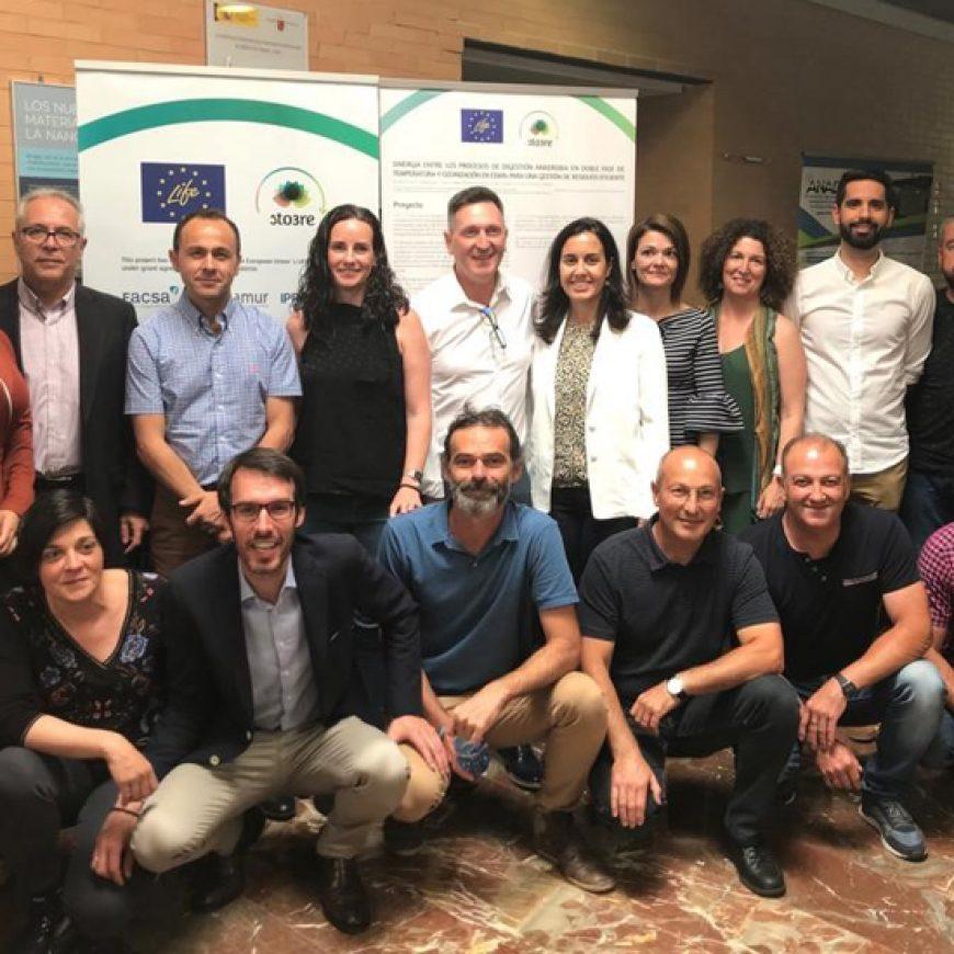 La tecnología del proyecto europeo LIFE STO3RE permitirá incrementar en más de un 30% la producción de biogás