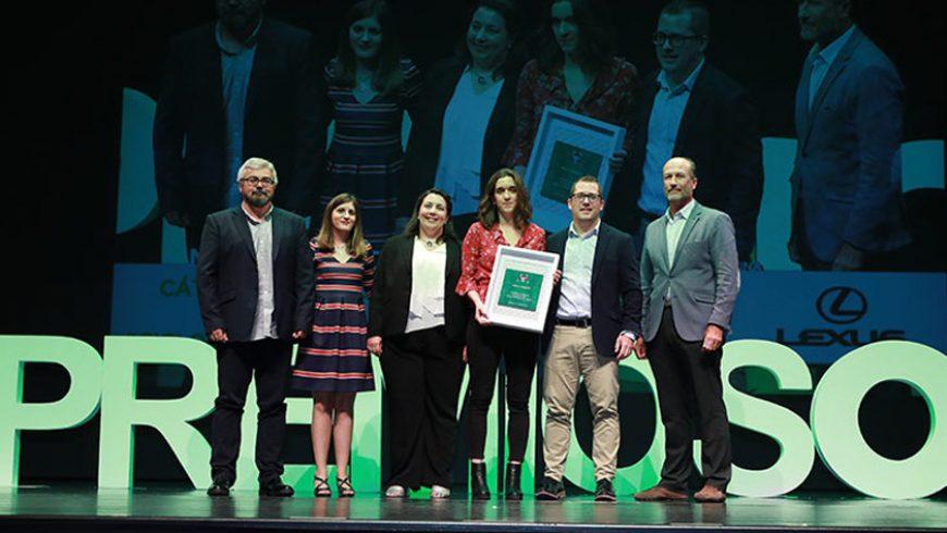 La Cátedra FACSA de la UJI recibe el premio Onda Cero en la categoría de Medio Ambiente