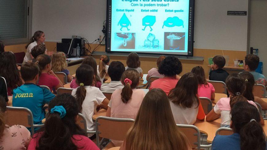 La Diputación Provincial y FACSA educan a los más pequeños de la provincia en el uso racional del agua