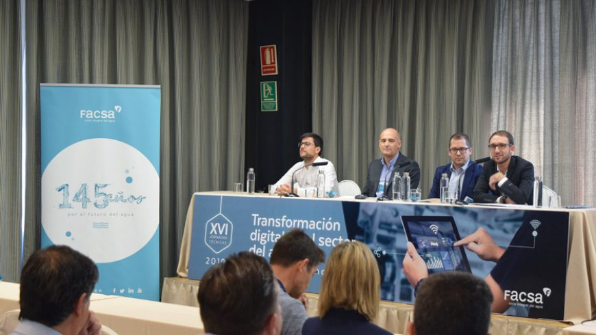 FACSA analiza los retos y tendencias de la transformación digital en el sector del agua