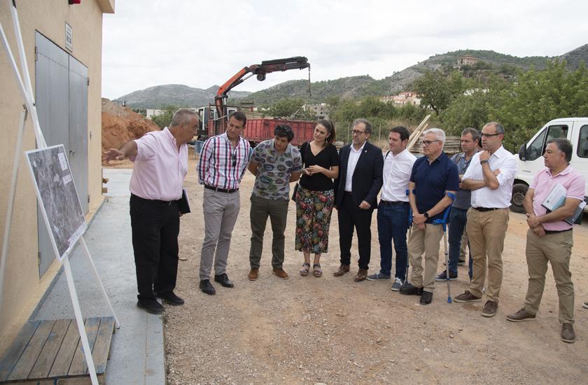 El nuevo colector de aguas residuales de Borriol funcionará el próximo otoño