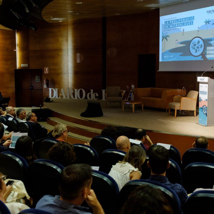 Éxito de las jornadas de FACSA sobre el problema de proliferación de microalgas en aguas costeras