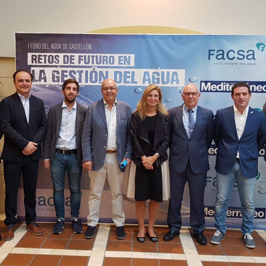 FACSA analiza los retos de futuro en la gestión del agua