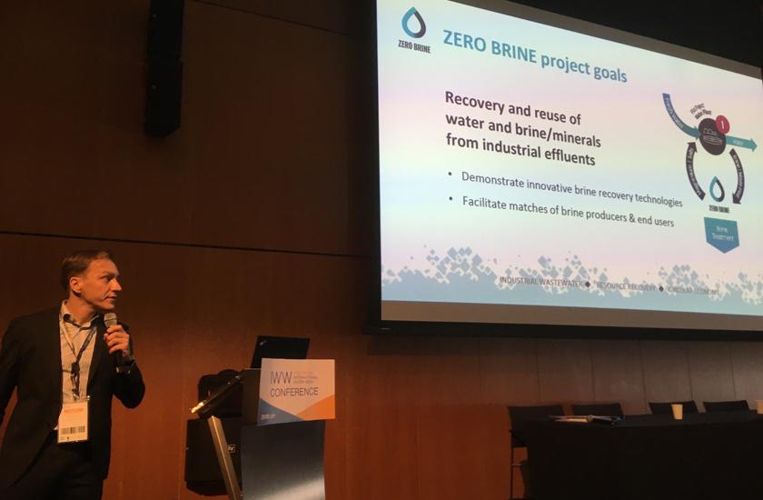 El proyecto Zero Brine organiza una jornada en la European Water Innovation Conference para exponer sus avances