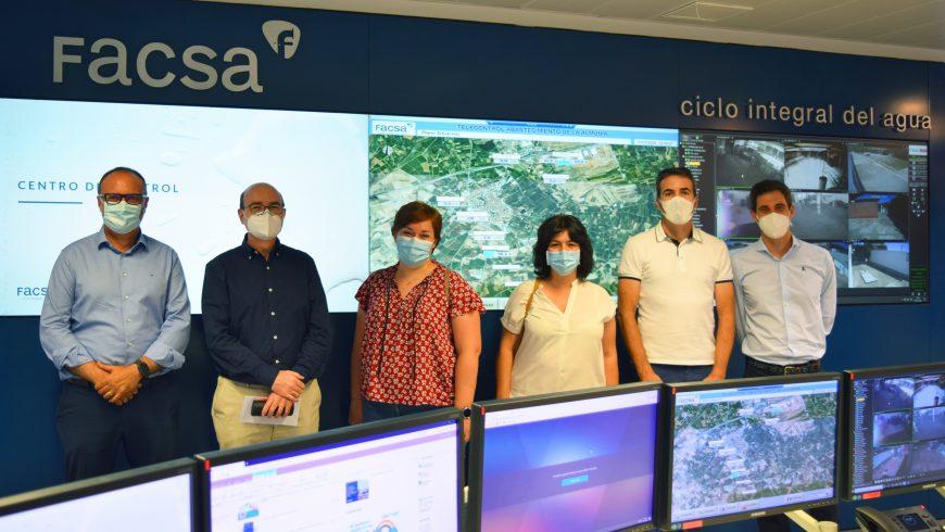 El Ayuntamiento de La Almunia de Doña Godina visita la sede central de FACSA