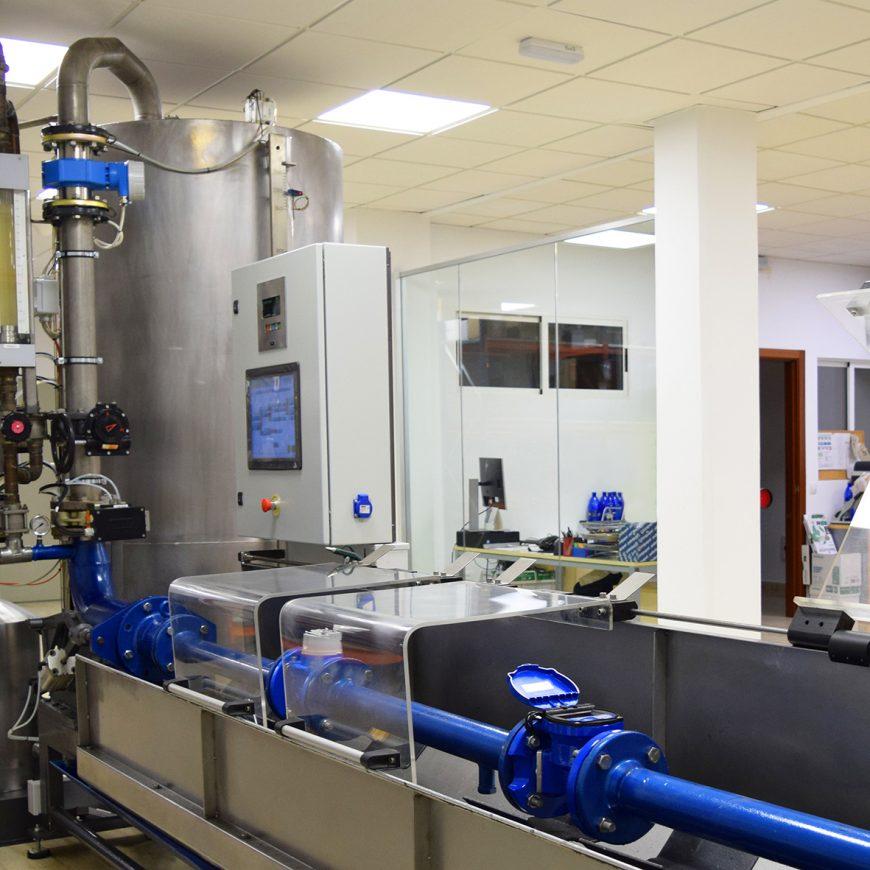 FACSA pone en marcha uno de los pocos laboratorios de contadores de España capaz de medir más de 200.000 litros/hora